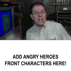 Angry Video Game Nerd & Heroes Vs Villains