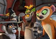 Clover Maurice and King Julien