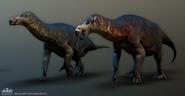 PK Iguanodon
