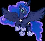 Princess luna flying by negatif22 de201p9-pre