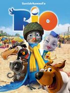 Rio (2011; Davidchannel's Version) Poster