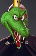 King K. Rool as Count Dooku.