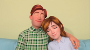 Mr. Johnson and Miss Johnson falls asleep in Quiet Time Song