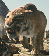 Sabertoothed Tiger (10000 BC.)