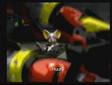 Sonic Heroes Rouge Looking at Omega Shooting Shadow