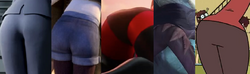 The Mother, Felicie, Helen, Vidia and Rita Loud Butts.png