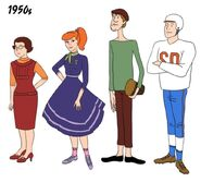 1950s Mystery Gang