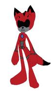 Adagio as Red Ranger