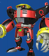 E-123 Omega in Mario and Sonic at the Rio 2016 Olympic Games