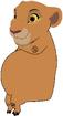 Kiara as a Hippopotamus Sitting