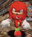 Knuckles the Echidna in Sonic Adventure
