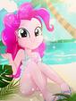 Pinkie Pie's Sunny Beach Day