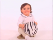 Wild Gertie Ball- Zebra
