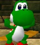 Yoshi in Mario Party