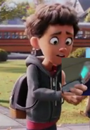 Alex with Phone