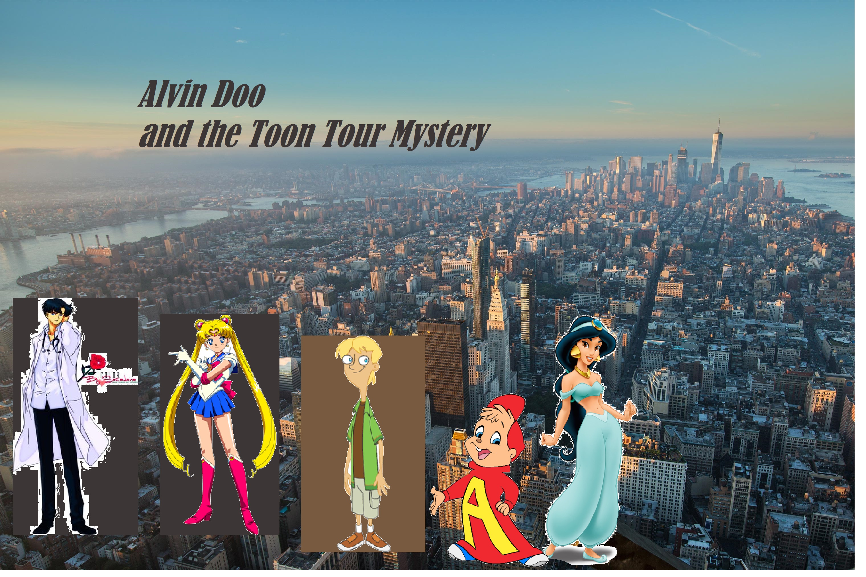 Alvin Doo and the Toon Tour of Mysteries
