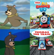 Cindy Bear Hates Thomas & Friends All Engines Go And Likes Thomas & Friends by Pstephen05
