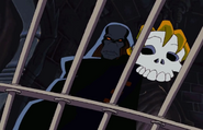 Count Nefarious with Skull