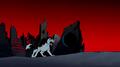Nega Beast Boy as Wolf