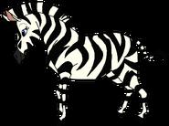 Sally Spacebot zebra form thelionking in thespacebotsadventuresseries
