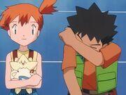 Togepi, Misty and Brock 7