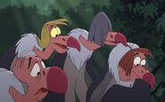Vultures in The Jungle Book 2 (2003)