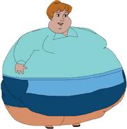 Anita Radcliffe Obèse