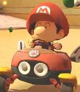 Baby Mario in Mario Kart 8