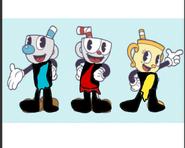 CUPHEAD Characters as Tarzans