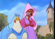 Maid Marian and Lady Kluck