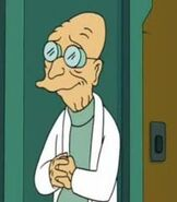 Professor Hubert J. Farnsworth being cool very cool very