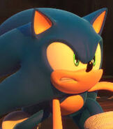 Sonic Angry