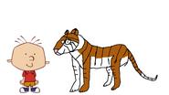 Stanley Meets Sumatran Tiger