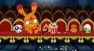 Katsuma and the moshlings at the cinema