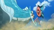 Magi-18-southern creature-sharrkan-sea serpent-slish-attack-fish meat