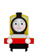 Molly the Yellow Engine by Emerald-Omen
