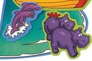 Noah's Ark Hippos