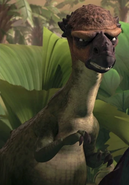 Pachycelaphosaurus in Ice Age