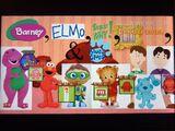 Barney, Elmo, Super Why, Daniel Tiger, and Blue's Clues
