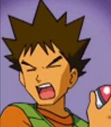 Brock in Pokemon Puzzle League