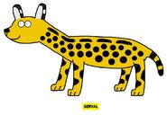Emmett's ABC Book Serval