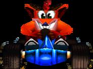 Mr CTR Crash In-Kart (Front)