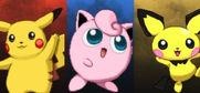 Pikachu, Jigglypuff and Pichu