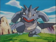 Rhydon in Bound for Trouble of Pokémon