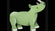 Safari Island Rhino