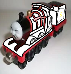 Take Along and Take 'n' Play James (Ghost Form) (Eyes Shut Face).png