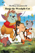 The Many Adventures of Banjo the Woodpile Cat Poster