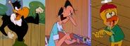 The Woody Woodpecker Villains as Livingstones