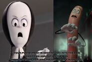 Wednesday Addams Hates Frank the Sausage