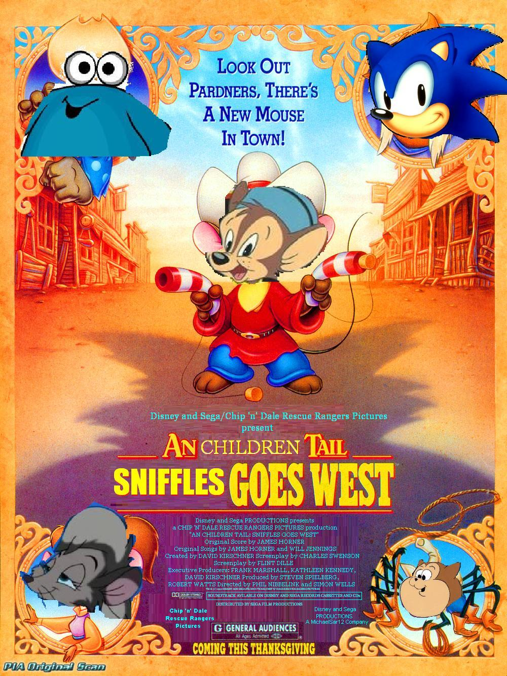 An Children Tail 2: Sniffles Goes West